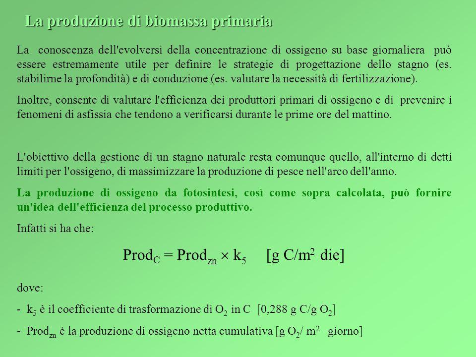 ProdC = Prodzn  k5 [g C/m2 die]